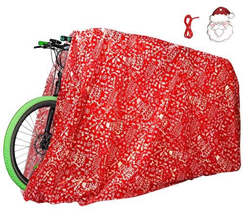 Celyoce 200 x 145cm Große Weihnachtstüten, Weihnachten Geschenkbeutel, Kunststoff Weihnachten Goody Bags für Hochzeitstag Frohe Weihnachten