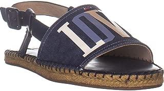 ELLEN DEGENERES ED Skylin Espadrille Sandals, Washed Blue Denim
