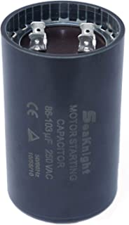 BlueCatELE 86-103 MFD (uF) Motor Start Capacitor Compatible for Franklin Control Box 2801074915, CRC 2824085015 3/4 and 1 HP Well Pump and Others