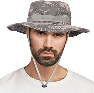 High Stream Gear Wide Brim Outdoor Boonie Hat for Fishing, Hiking, Hunting, Safari Trips