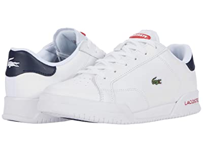 Lacoste Twin Serve 0721 1 SFA (White/Navy/Red) Women