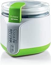 Ariete 615 - Máquina para hacer queso y yogur, 2 litros, 6 programas, 1 cestillo para queso, 1 cestillo para yogur, filtro para yogur griego, tapa con sensor, recetario, color blanco y verde