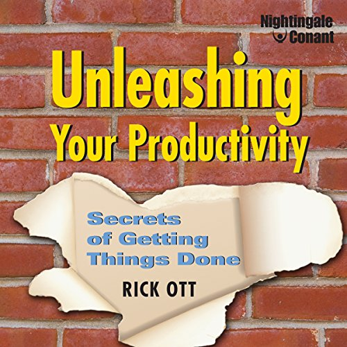 Unleashing Your Productivity audiobook cover art