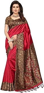 GoSriKi Silk Saree with Blouse Piece