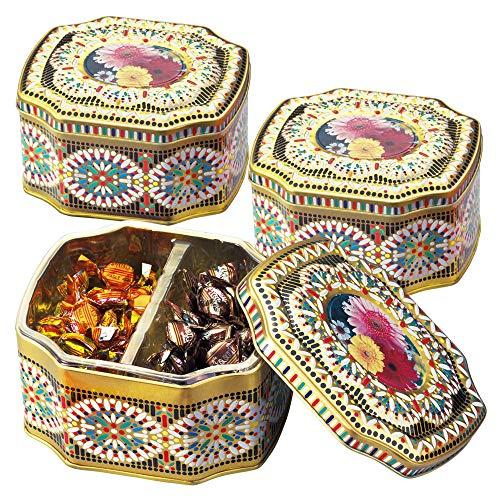 イタリアお土産 | イタリアン ミニキャンディー デイジー缶 3缶セット