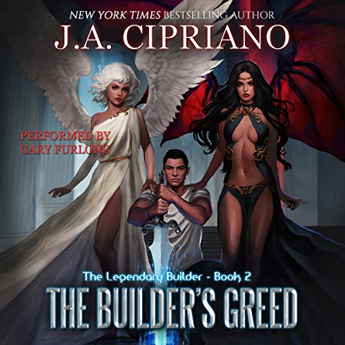 The Builder's Greed: The Legendary Builder, Volume 2 cover art