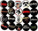 Thrash Metal 20 Buttons New 1' inch (25mm) pins Badges