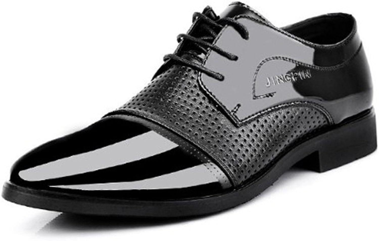 BININBOX Men Modern Oxford Wing Tip Fashion Sneaker Casual Dress shoes Business