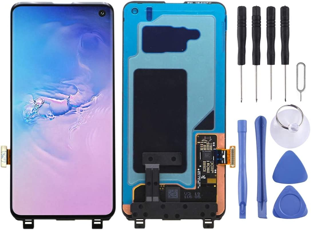 runqimudai LCD Screen and favorite Digitizer Full San Antonio Mall Galaxy S10 for Assembly