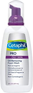 Cetaphil Pro Oil Removing Foam Wash, 8 Fluid Ounce (Pack of 3)