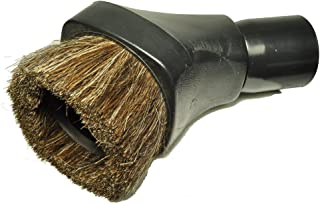 Miele Replacement Dust Brush, designed to fit Miele Vacuum Cleaners, Horsehair bristles, color black, will also fit Samsung, and Emer Lil Sucker Vacuum Cleaners