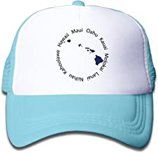 Toddle Kid's Hawaii State Map Trucker Hat