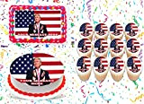 Donald Trump Cake Topper Edible Image Personalized Cupcakes Frosting Sugar Sheet...