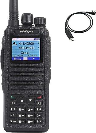 HESENATE DM-1701 Dual Band 136-174/400-480MHz Amateur Handheld Two Way Radio Tier II DMR and Analog (HAM)