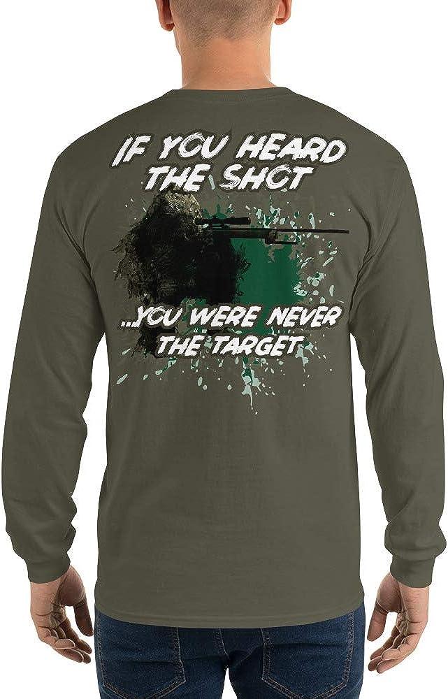 If You Hear The Shot. Bargain sale weren't Long Men's S Sleeve Target San Francisco Mall
