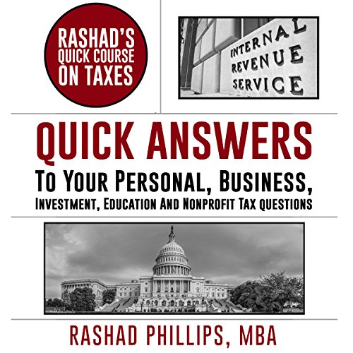 Rashad's Quick Course on Taxes cover art