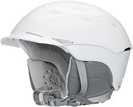 Smith Optics Adult Valence Ski Snowmobile Helmet - Satin White/Medium