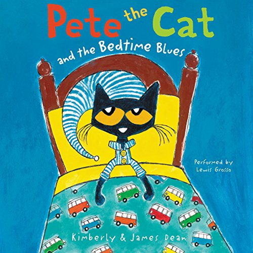 Pete the Cat and the Bedtime Blues cover art