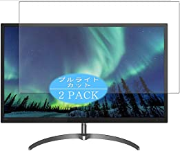 """【2 Pack】 Synvy Anti Blue Light Screen Protector Compatible with Philips 326E8FJSB 31.5"""" Display Monitor Anti Glare Screen ..."""