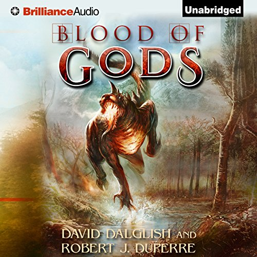 Blood of Gods audiobook cover art