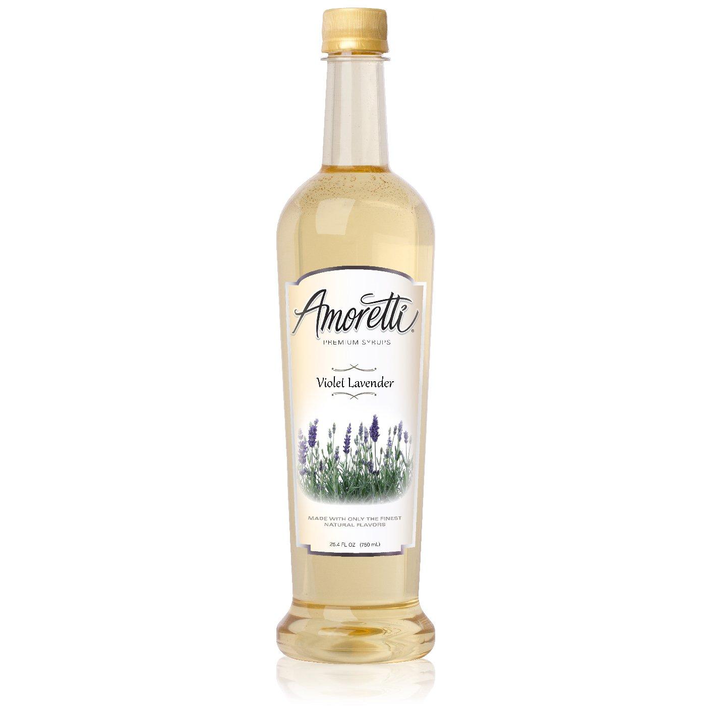 Amoretti Premium Violet Lavender Syrup (750mL)