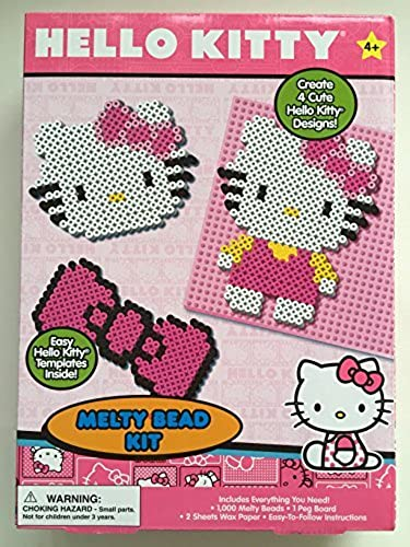 tienda en linea Hello Kitty Kitty Kitty Melty Bead Kit by Hello Kitty  forma única