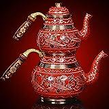 Vintage Copper Turkish Teapot Tea...