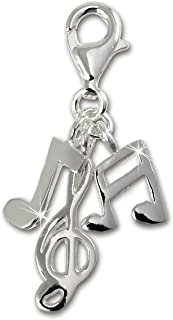 SilberDream{925} Ciondolo in Argento Sterling albero di Natale artificiale ciondolo per bracciale catena orecchino FC3113