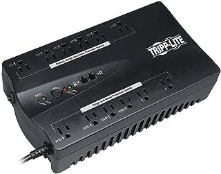 Tripp Lite 900VA UPS Battery Backup, 480W Eco Green, USB, RJ11, Muted Alarm, 12 Outlets (ECO900UPSM)