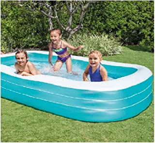"""Intex Swim Center Family Inflatable Pool, 120"""" X 72"""" X 22"""", for Ages 6+ New"""
