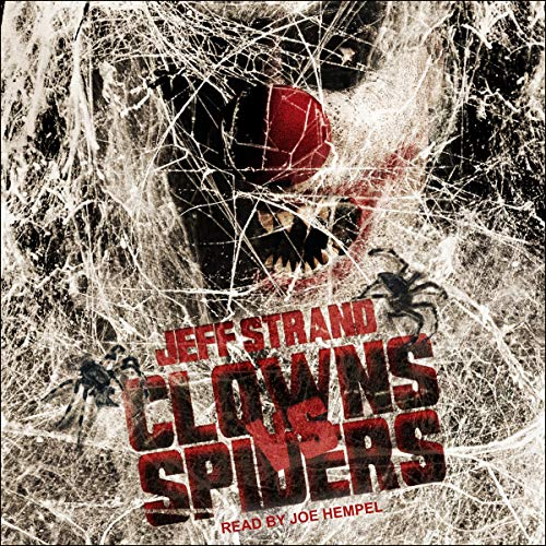 Clowns vs. Spiders audiobook cover art