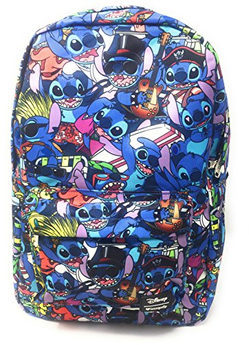 Loungefly x Disney Lilo and Stitch Costume All Over Print Backpack