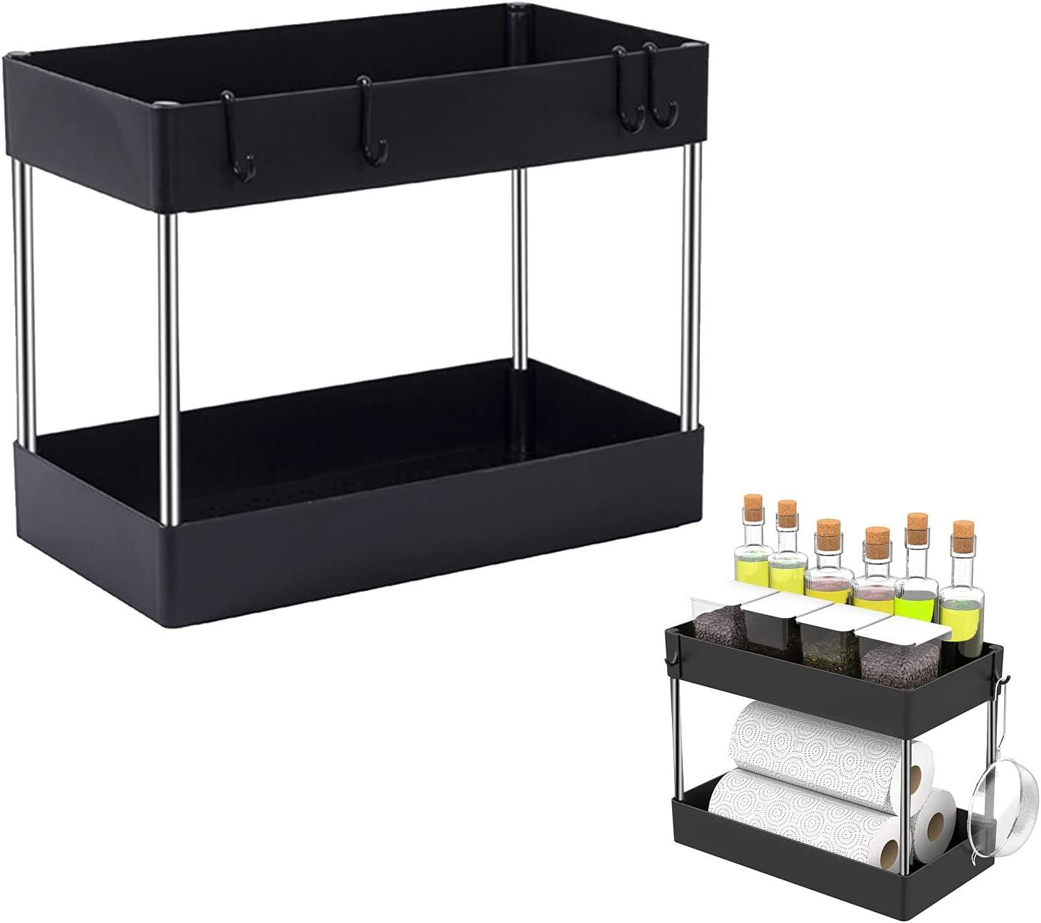 ORIJOYNA Colorado Springs Mall Standing Shelf Storage Cart - Dual Today's only Shelves Duty S Light