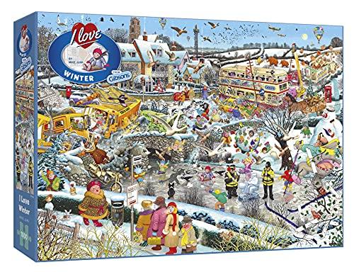 SES I Love Winter Puzzle, 1000 Pezzi