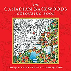 canadian backwoods colouring book