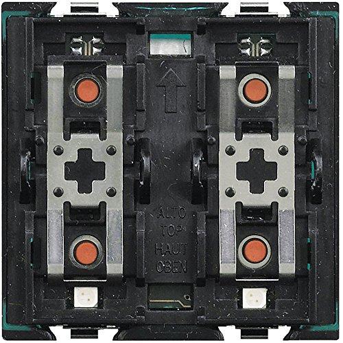 BTicino H4661M2 MyHome_Up Axolute Actionneur avec Commande Intégrée pour Volets Motorisés