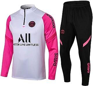 zhaojiexiaodian Uniforme de fútbol de manga larga, primavera y otoño, camiseta deportiva para adultos, traje de entrenamie...