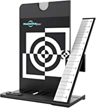 Maxsimafoto Lens Focus Calibration Tool Alignment Ruler with white balance card