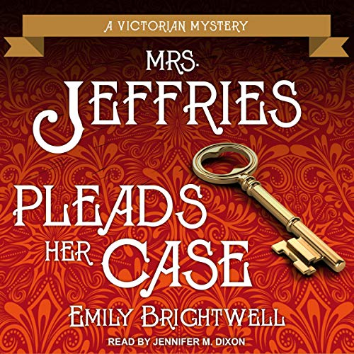 Mrs. Jeffries Pleads Her Case Audiobook By Emily Brightwell cover art