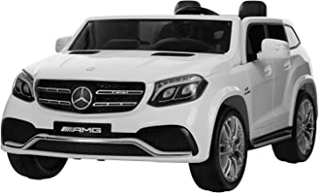 Uenjoy 2 Seater 12V Licensed Mercedes-Benz GLS63 AMG Kids Ride On Car Electric Cars Motorized Vehicles for Kids, with Remo...