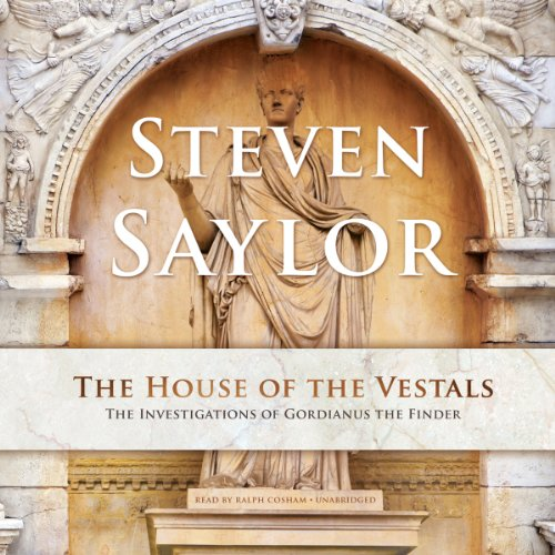 The House of the Vestals audiobook cover art