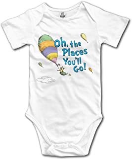 Oh, The Places You'll Go! Baby Onesie Toddler-Bodysuits
