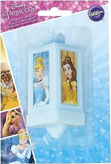 Wilton 2811-7490 Disney Princess Decorative Candle, Assorted