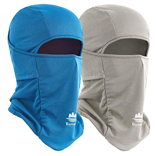 Botack Balaclava Face Mask Sun UV Protection Breathable Full Head Mask for Man Women Cycling