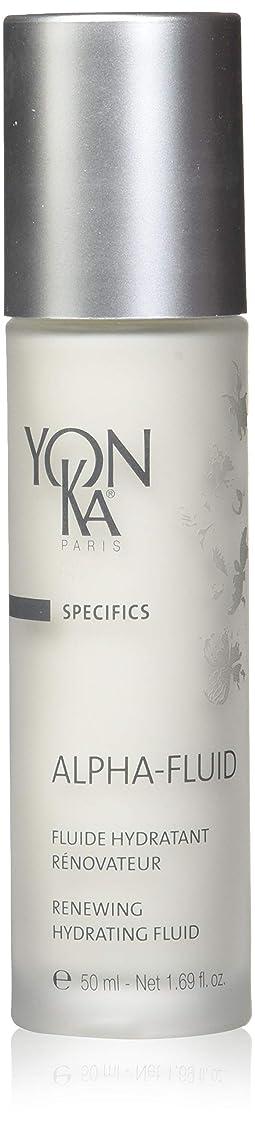 通路匹敵します検閲YONKA (ヨンカ) アルファ フルイド_50mL/日中用乳液
