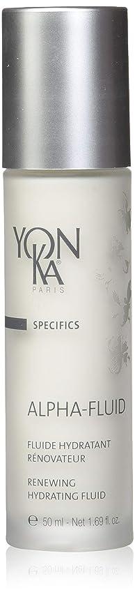 表面呼吸する準備ができてYONKA (ヨンカ) アルファ フルイド_50mL/日中用乳液