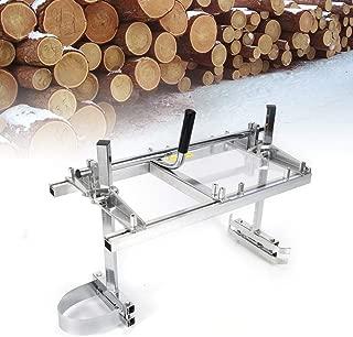 Sierra móvil portátil para motosierra, motosierra, molinillo, tabla de madera, ayuda para sierra de 14 a 24 pulgadas