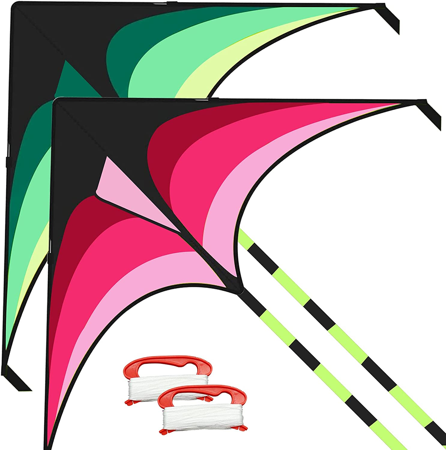 BEIJITA Chicago Mall Delta Kite for Kids Phoenix Mall Adults Easy Fly Large to with