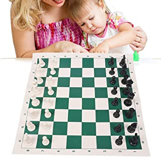 Chess Shoulder Straps Portable Outdoor Sports International Chess Set Gift Traditional Family Party Table Plastic Pieces T...