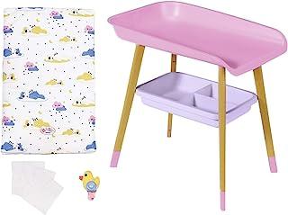 BABY born 829998 Luiertafel - Voor Peuters Vanaf 3 Jaar - Perfect voor Kinderhandjes - Tafel met Afneembaar Handdoekrek